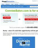Connie%27s+Salon+%26+Spa Website
