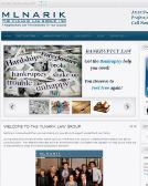 The+Mlnarik+Law+Group Website