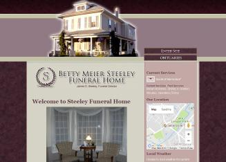 Betty+Meier+Steeley+Funeral+Home Website