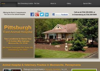 Pittsburgh+East+Animal+Hospital Website