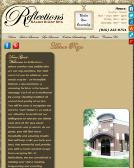 Reflections+Styling+Salon Website