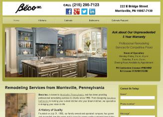 Beco+Inc Website