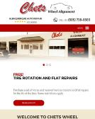 Chet%27s+Wheel+Alignment Website