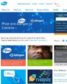 Pfizer+Inc Website