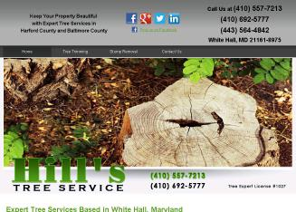 Hill%27s+Tree+Service Website