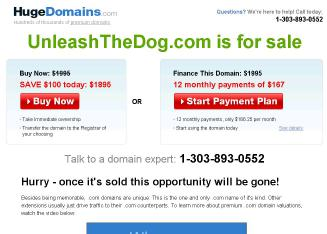 Unleashed+Doggie+Day+Care Website