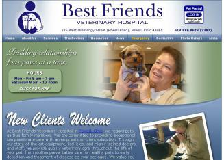 Best+Friends+Veterinary+Hospital+-+Dr.+Ritchie Website