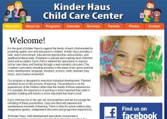 Kinder+Haus+Child+Care+Center Website