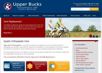 Upper+Bucks+Orthopedic+Association Website