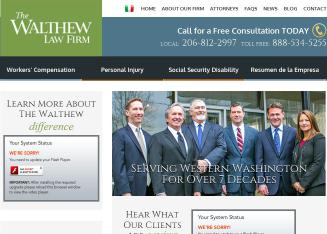 Walthew+Law+Firm Website
