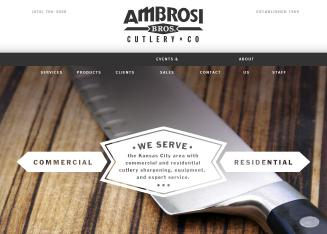 Ambrosi+Brothers+Cutlery+Co Website
