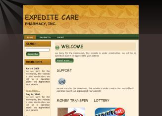 Expedite+Care+Pharmacy Website
