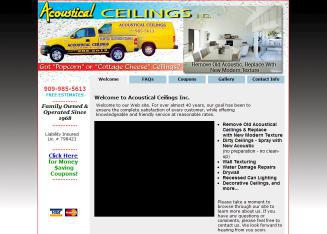 Acoustical+Ceilings Website