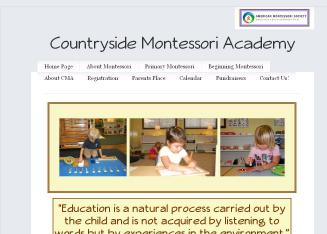 Countryside+Montessori+Academy Website
