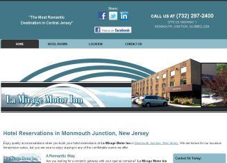 La mirage motor inn in monmouth junction nj 3775 us for La mirage motor inn avenel nj