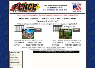 FenceWholesale.com Website