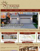 Sunrise+Garage+Door Website