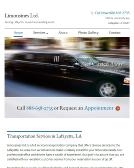 Limousines+Limited Website