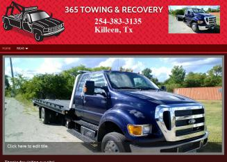 365 Towing & Recovery - 2903 S Fort Hood St, Killeen, TX