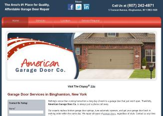 American Garage Door CO In Binghamton, NY | 50 Tremont Ave, Binghamton, NY