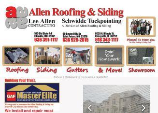 Allen Roofing U0026 Siding In Caseyville, IL | 8020 N Illinois St, Caseyville,  IL