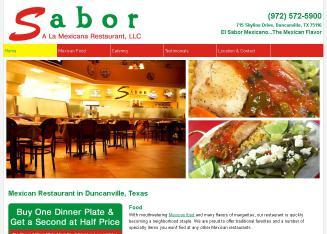 Sabor A La Mexicana Restaurant In Duncanville Tx 715 Skyline Dr