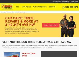 Hibdon Tires Plus 2140 24th Ave Nw Norman Ok