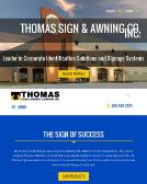 Thomas Sign And Awning Co In Clearwater FL