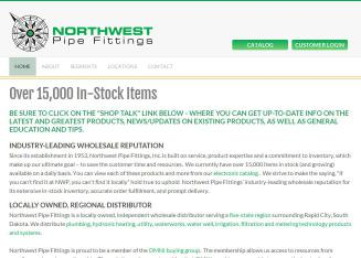 Northwest Pipe Fittings Inc - 500 S Grant Ave, Pierre, SD