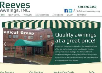 Reeves Awnings In Mayfield, PA | 216 Whitmore Ave, Mayfield, PA | Awnings U0026  Canopies