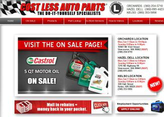 Costless Auto Parts 300 Oak St Kelso Wa