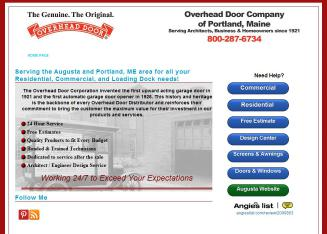 Beau Overhead Door Co Of Portland   533 Riverside Industrial Pkwy, Portland, ME