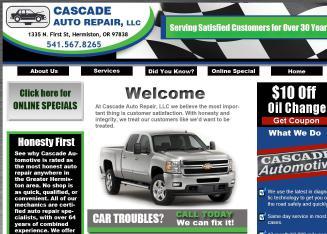 Cascade Auto Repair >> Cascade Auto Repair 1335 N 1st St Hermiston Or