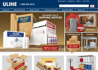 Uline Shipping Supplies - 2105 S  Lakeside Drive, Waukegan, IL