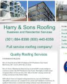 Harry And Sons Contracting In Bwood Md 3409 Windom Rd Roofing Contractors