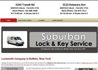 Suburban Lock And Key >> Suburban Lock Key Service 3122 Delaware Ave Buffalo Ny