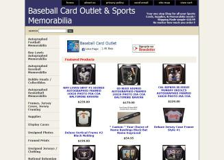 Baseball Card Outlet 7502 Eastern Ave Baltimore Md