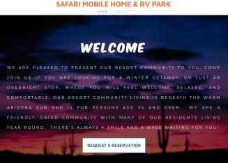 Safari Mobile Home Park In Casa Grande AZ