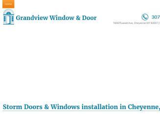 Grandview Window U0026 Door In Cheyenne, WY | 1609 Russell Ave, Cheyenne, WY |  Door U0026 Door Frame Dealers