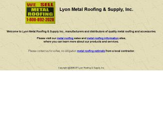 Lyon Metal Mfg Of Virginia In Fairlawn, VA | 7822 Peppers Ferry Blvd,  Fairlawn, VA