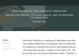 Distinctive Welding Inc In Fort Collins Co 700 W Willox Ln Business Services