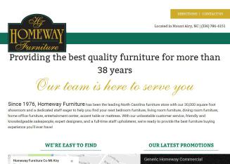 Homeway Furniture Co Mt Airy In Mount Airy, NC | 121 W Lebanon, Mount Airy,  NC | Furniture Stores