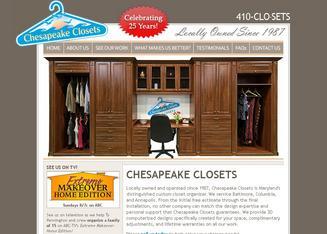 Chesapeake Closets In Baltimore, MD | 1511 Serpentine Rd, Ste C, Baltimore,  MD