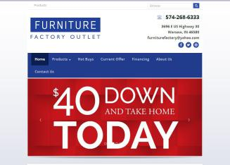 Furniture Factory Outlet In Warsaw, IN | 3696 E Us Highway 30, Warsaw, IN