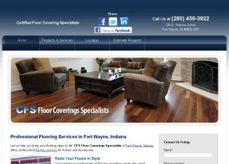 Cfs Floor Covering Specialists 228 E Wallace St Fort