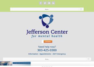 Jefferson Center Mental Health 9200 W Cross Dr Ste 421 Littleton Co