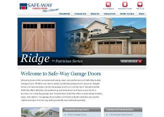 safeway garage doorsSafeWay Door in Columbia City IN  1131 S Williams Dr Columbia