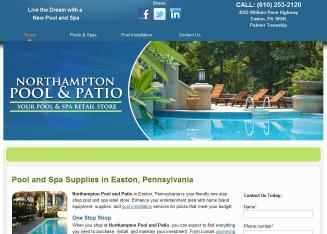 High Quality Northampton Pool And Patio In Easton, PA   4055 William Penn Hwy, Easton,  PA   Swimming Pool U0026 Spa Construction U0026 Contractors