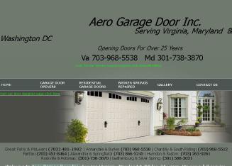 Aero Garage Door Inc In Springfield, VA | 4007 Middleridge Dr, Springfield,  VA