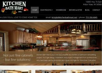 Kitchen Bath Mart In Arbor Vitae, WI | 10895 Hwy 70 East, Arbor Vitae, WI |  Cabinet Dealers
